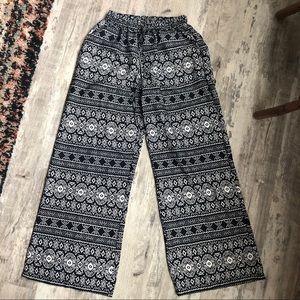 Cotton Express • Wide Leg Pants